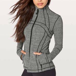 Lululemon Define Jacket size 4 - Jacquard Gray